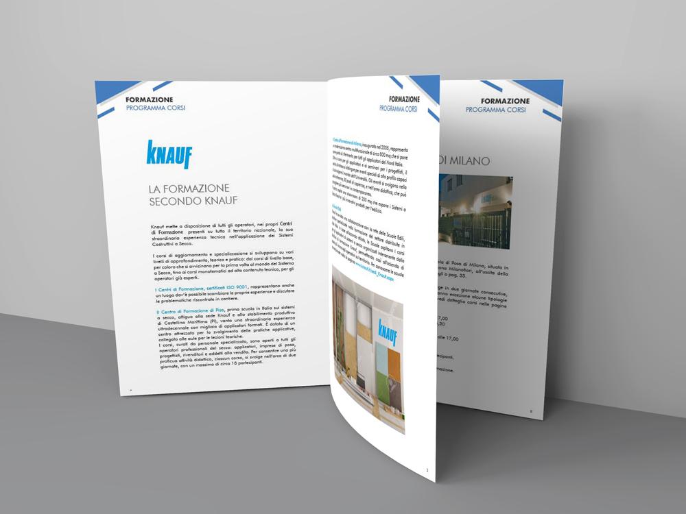 Realizzazione Brochure Knauf