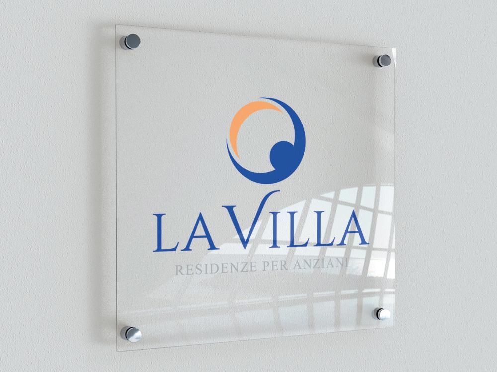 Realizzazione Logo La Villa Spa