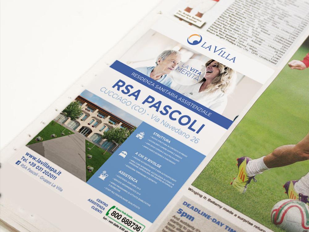Realizzazione Uscita Stampa Firenze La villa