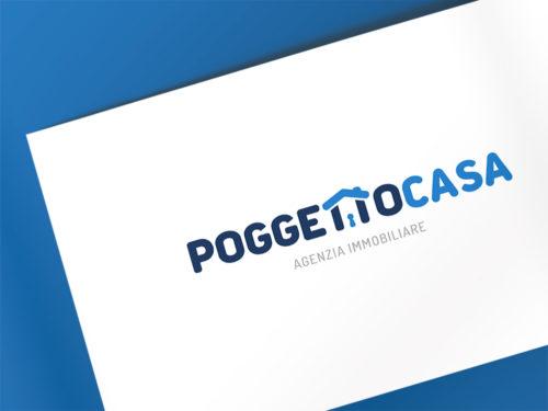 Logo Poggetto Casa Giba comunicazione